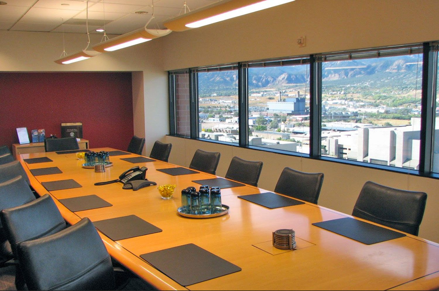 Conference Room for Court Reporting Depositions - Downtown Colorado Springs, Colorado